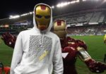 Nevan Doig is Iron Man at the Football