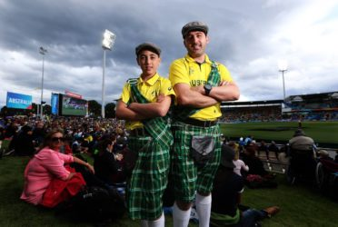 Michael & Liam Doig in Tasmania for the World Cup