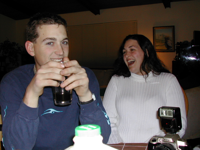 Christmas 2001 - Jesse Leader & Jenifer Doig