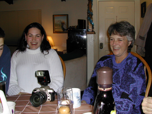 Christmas 2001 - Jenifer Doig & Linda Leader