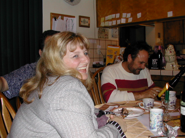 Christmas 2001 - Renee Eddo & Casey Barry
