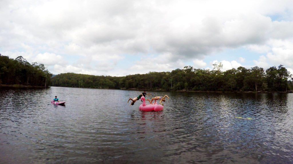 Camping Beehive Point - Backflips with Ritchie Schafe & Michelle Robinson
