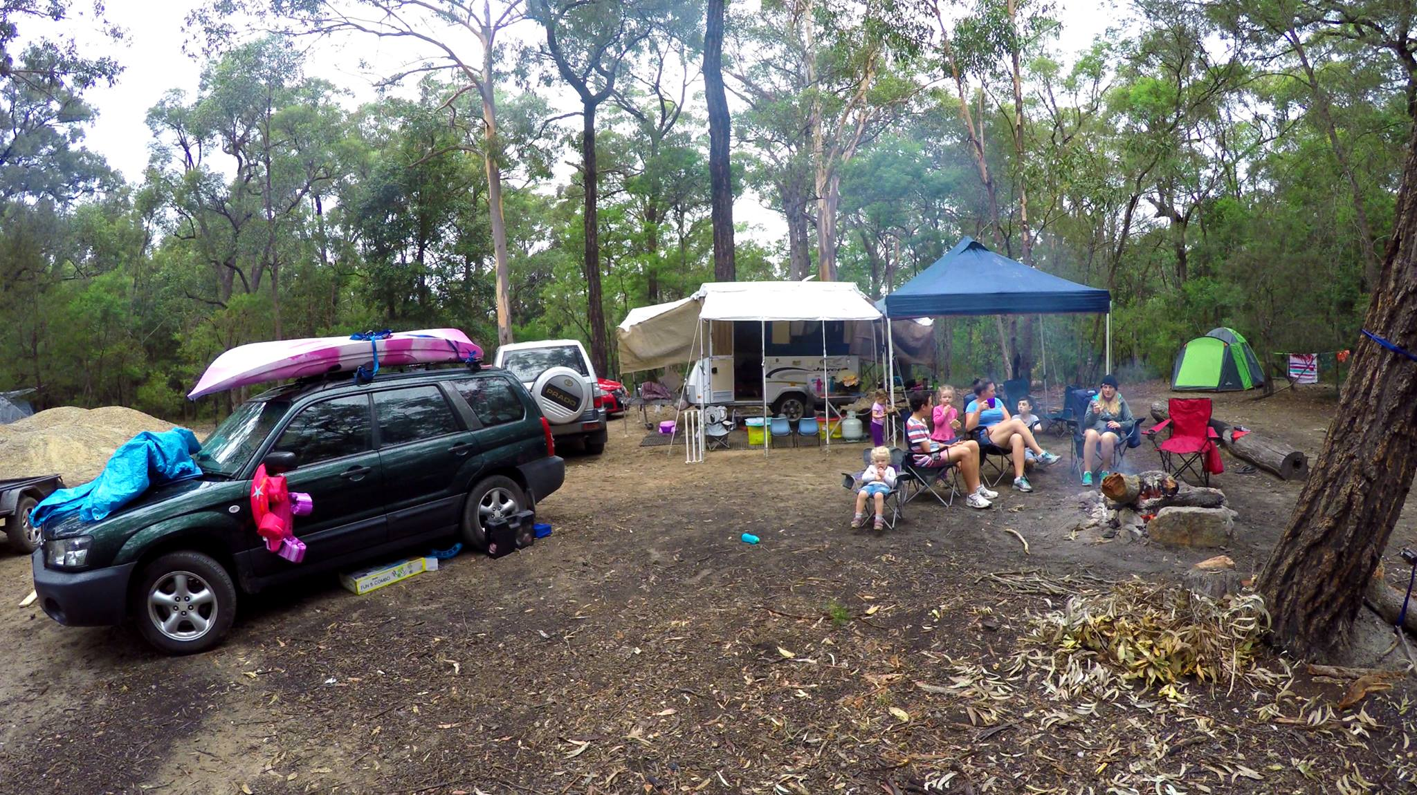 Camping Beehive Point - Jenifer Doig & Michelle Robinson
