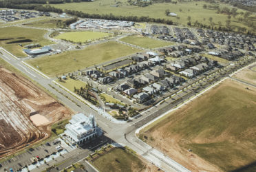 Solutions Outsourced, Oran Park - taken from the air during a local flight I enjoyed