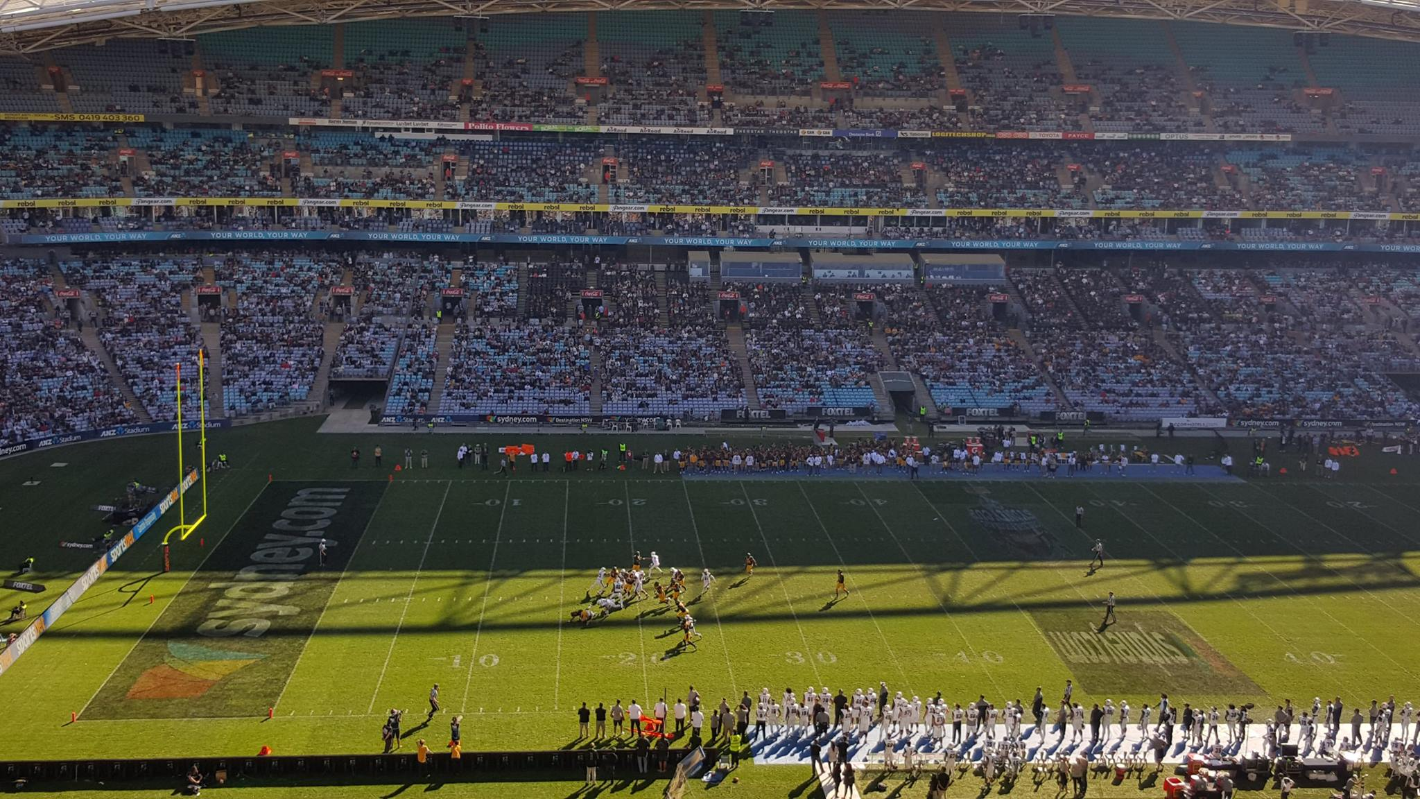 California Golden Bears vs Hawaii Rainbow Warriors in Sydney, Australia
