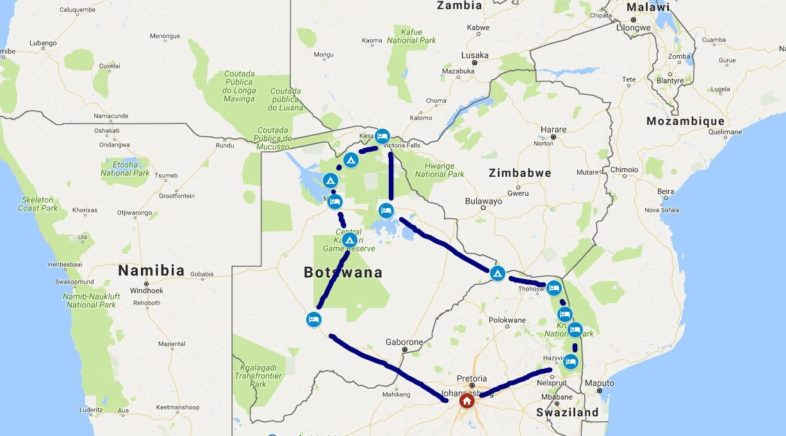 The great South African road trip