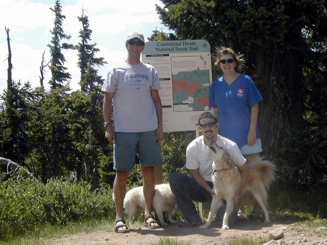 Hiking with Rick Callies & Jaimee Woolard McCullough