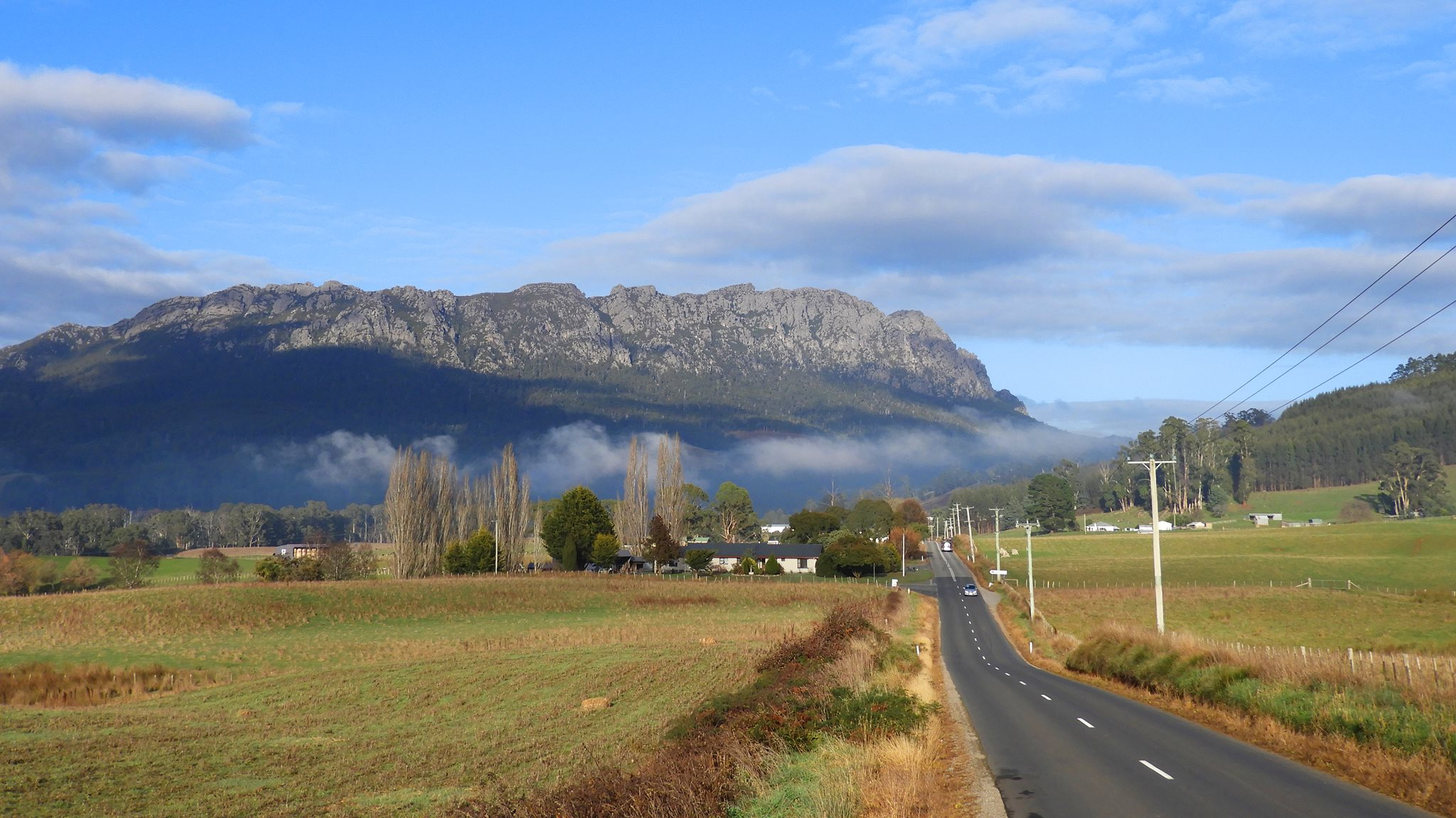 Driving to Cradle Mountain, Tasmania with Louise Connolly