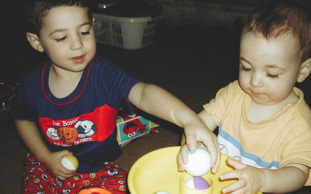 Nevan and Liam Doig - Liam's 1st Birthday