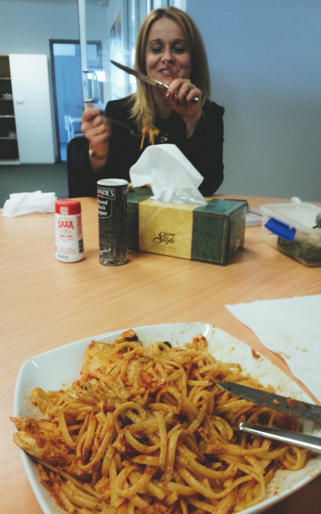 Goodbye Office Lunch with Lexie Sudy