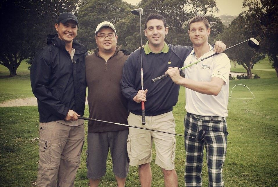 Golf with mates