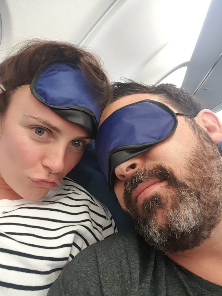 Michael Doig & Louise Connolly flying back home to Australia