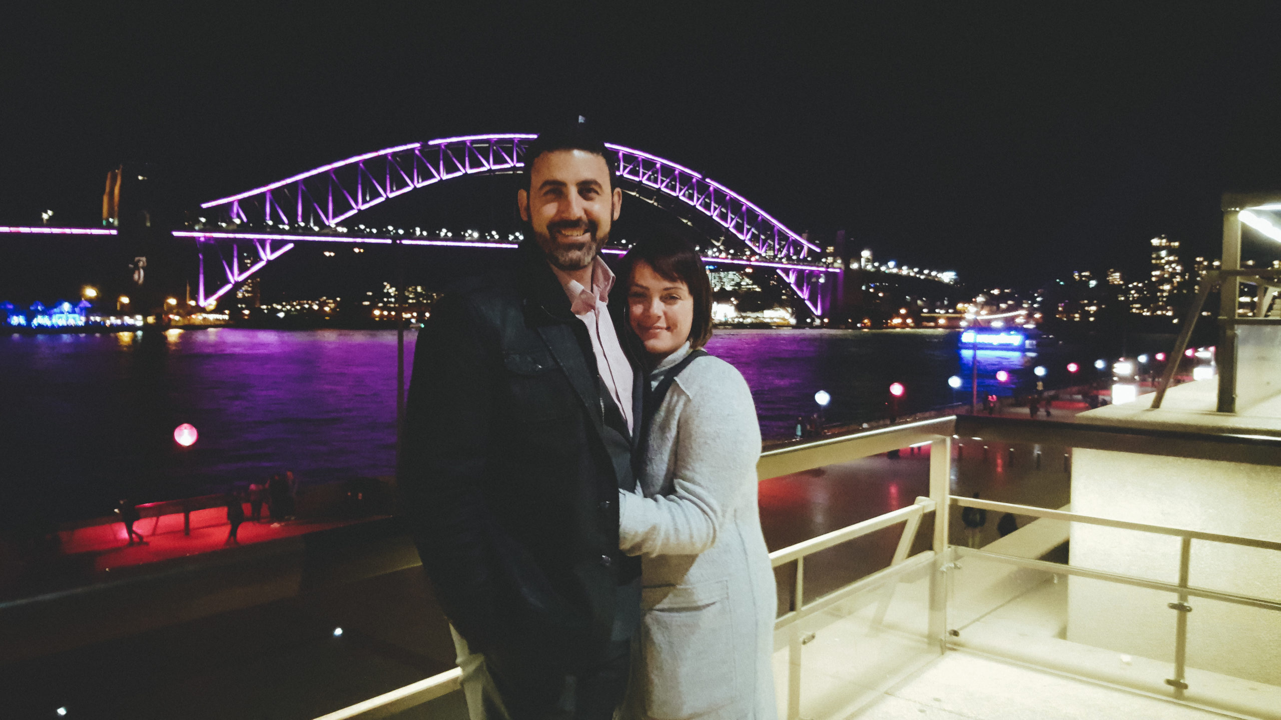 Michael Doig & Louise Connolly - Vivid, Sydney