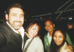 Michael Doig, Louise Connolly, Louie & Maitha Rosales - Vivid Cruise, Sydney