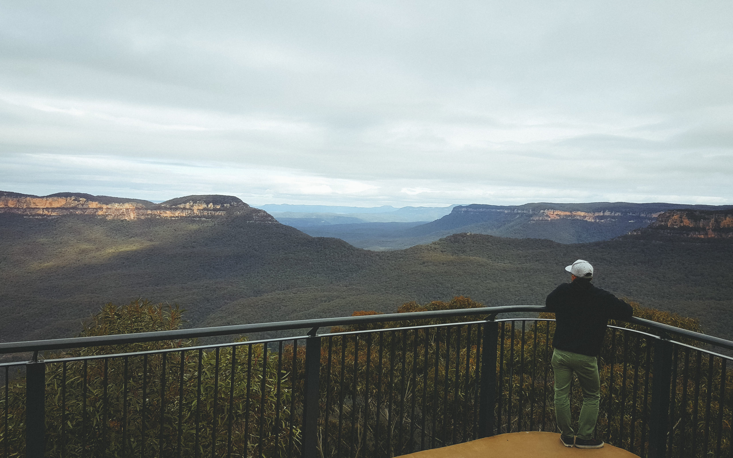 Louie Rosales and the Blue Mountains, Australia