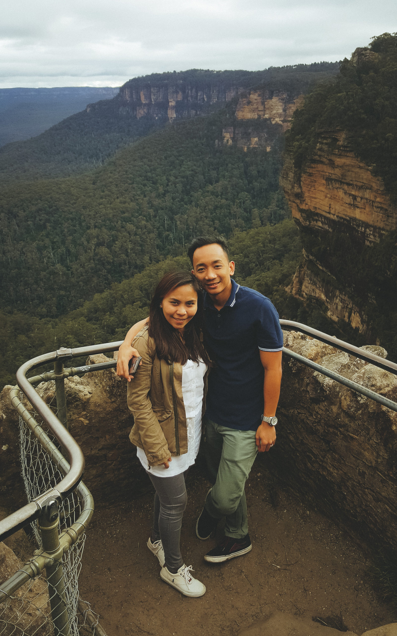 Louie & Maitha Rosales, Blue Mountains Australia