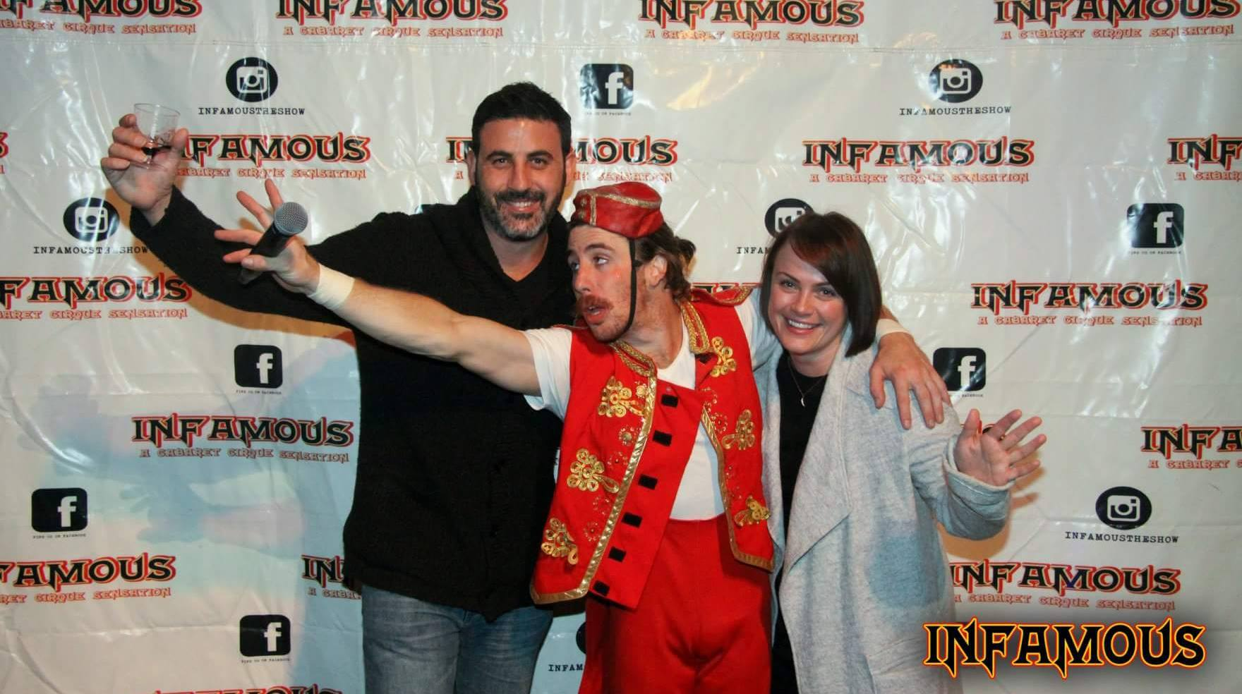 Michael Doig & Louise Connolly at Infamous Cabaret Circus
