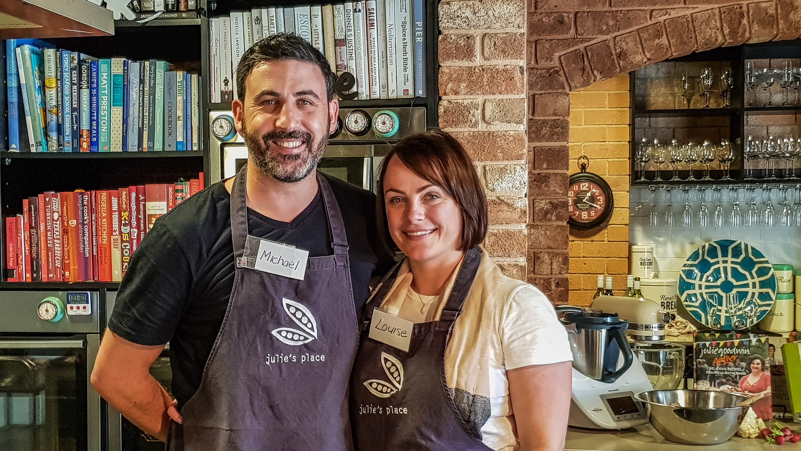 Master Chef Cooking Class - Michael Doig and Louise Connolly