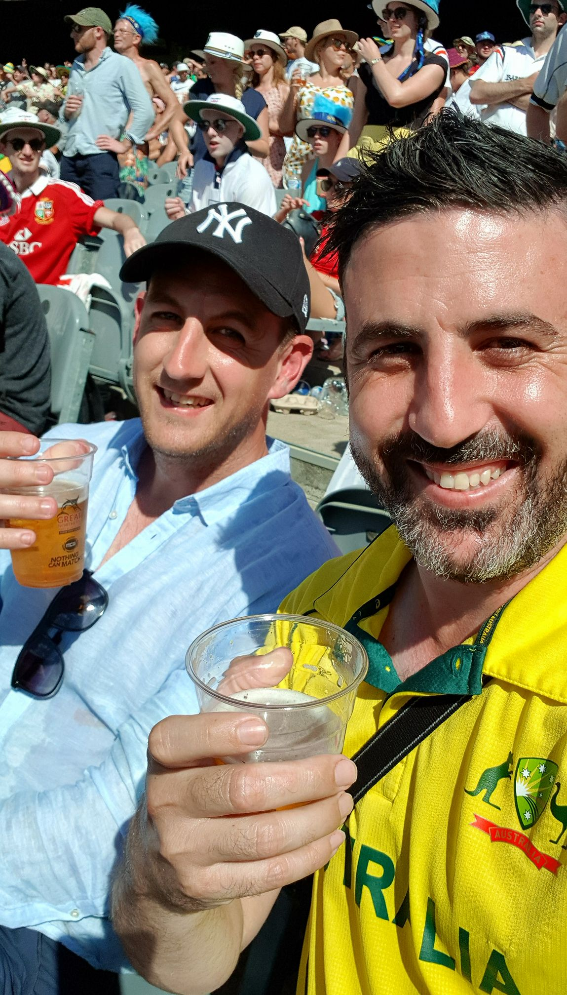 Boxing Day Test - Michael Doig and Adam Richardson