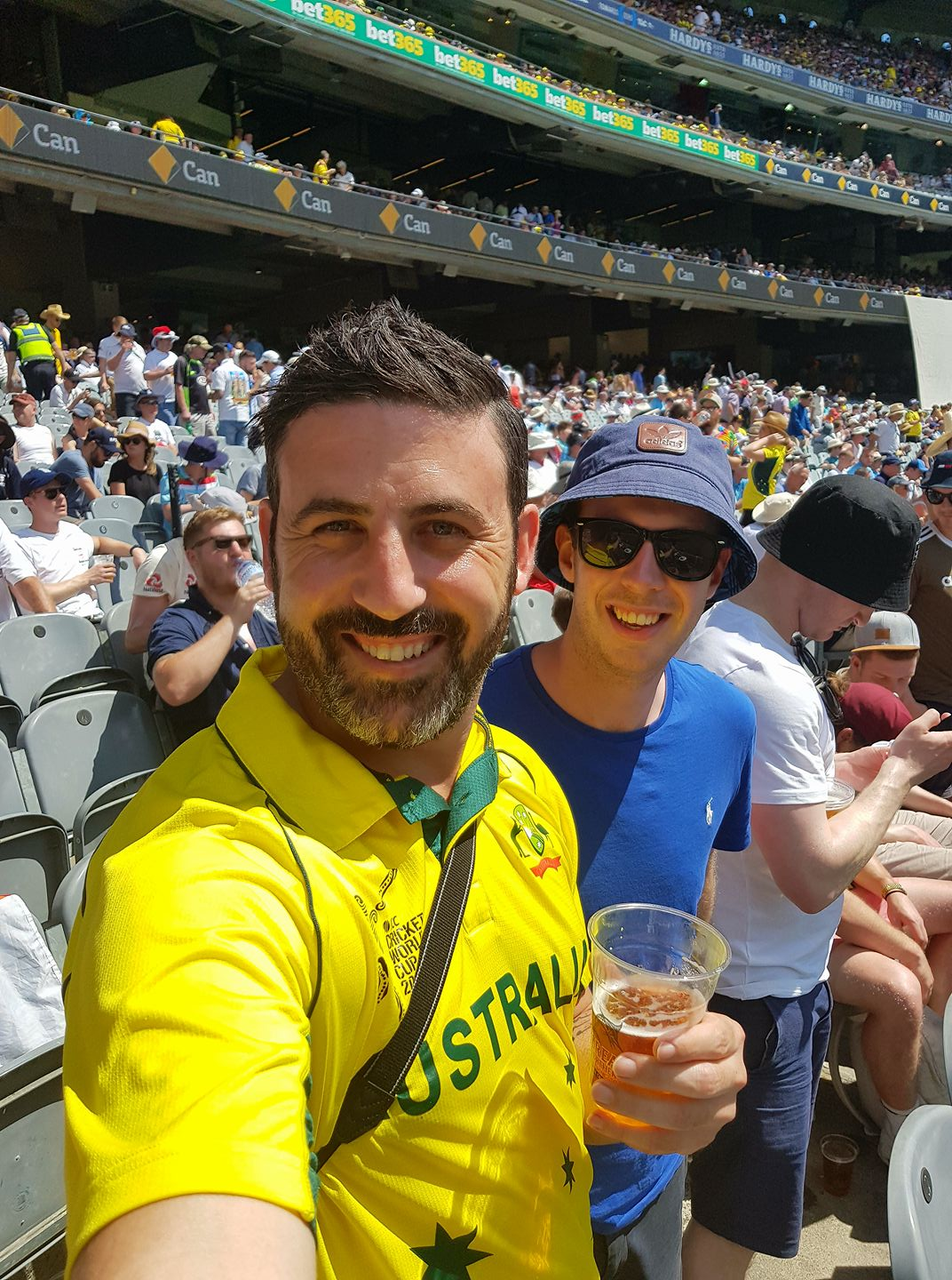 Boxing Day Test - Michael Doig and Barry Gilligan