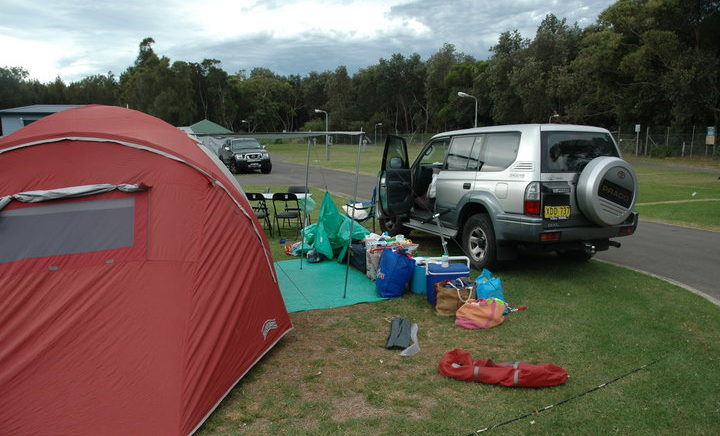 Camping Shoalhaven Heads