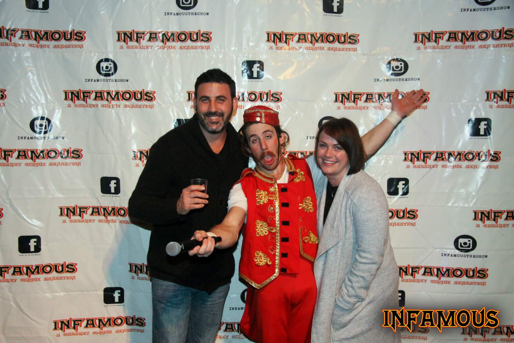 Michael Doig & Louise Connolly at Infamous Circus