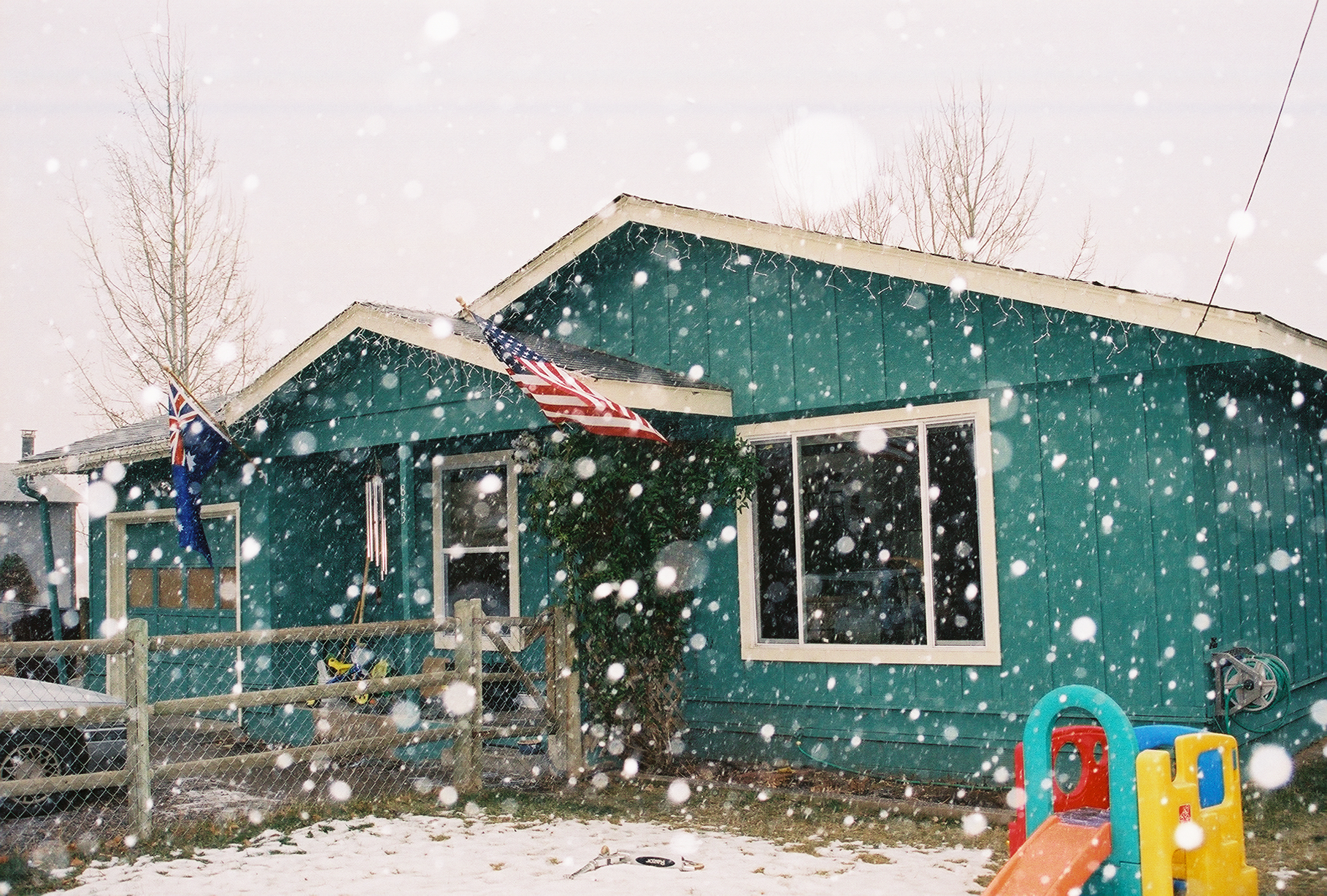 Snowing for Christmas!