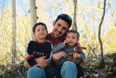 Michael Doig with sons Nevan & Liam