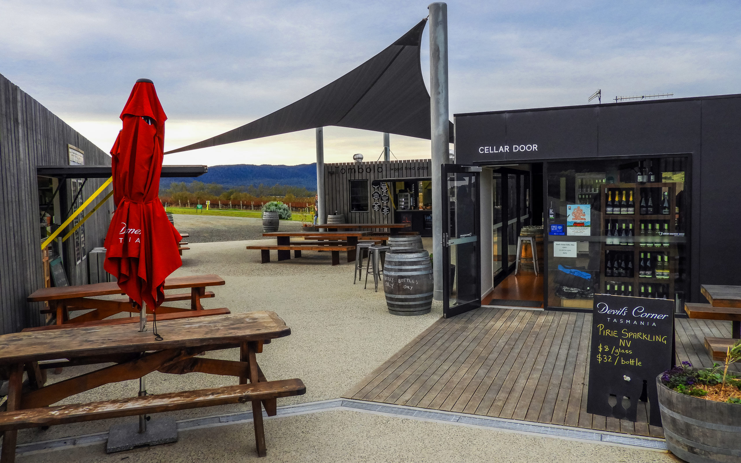 Devil's Corner Cellar Door, Tasmania