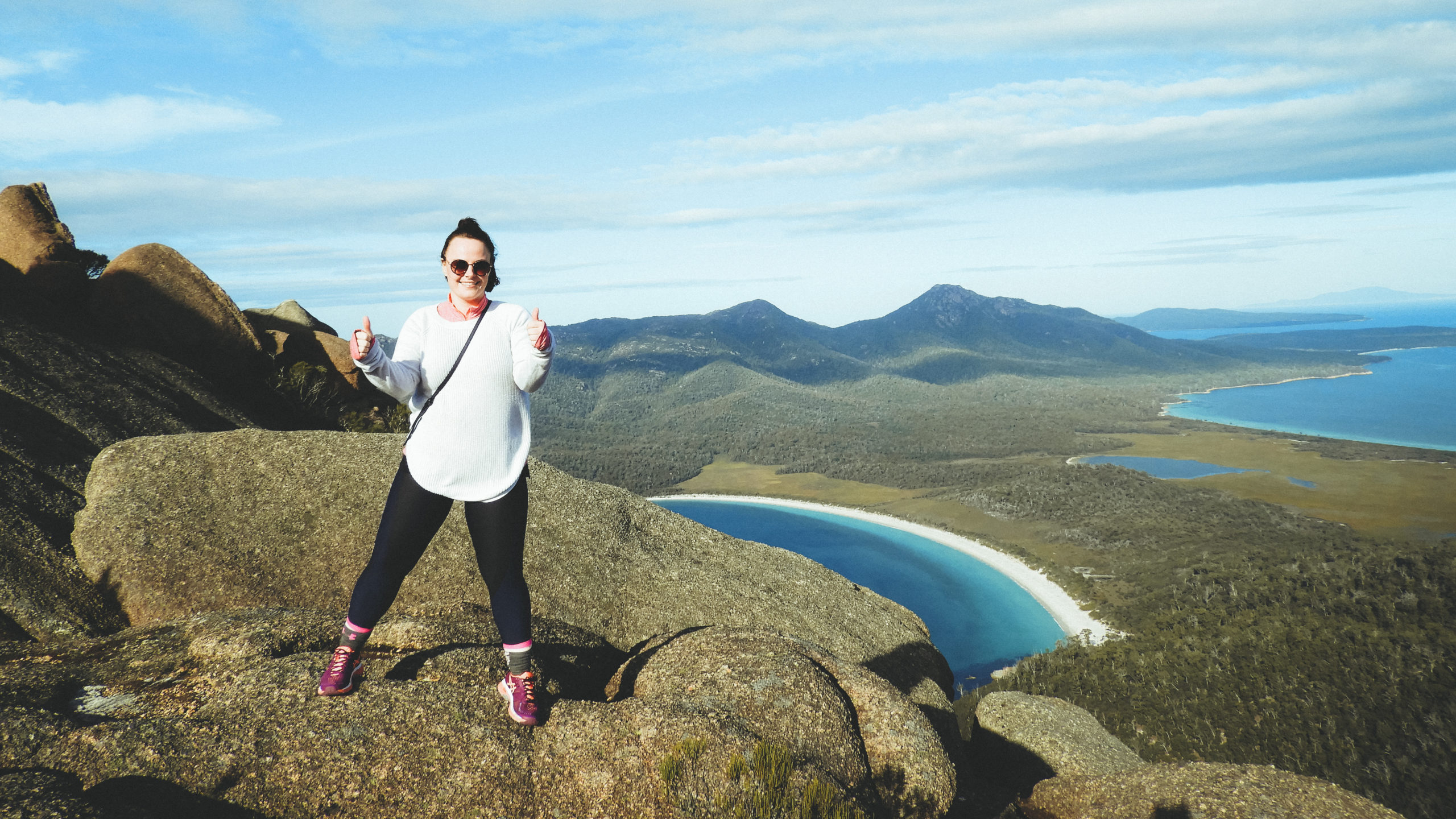 Louise Connolly on Mt Amos