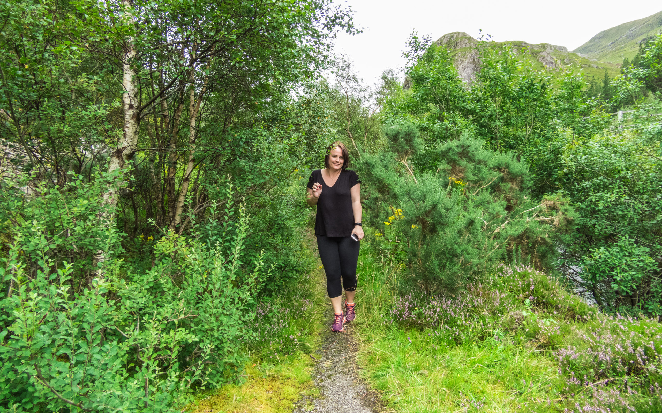 Hiking the Scottish Highlands with Louise Connolly