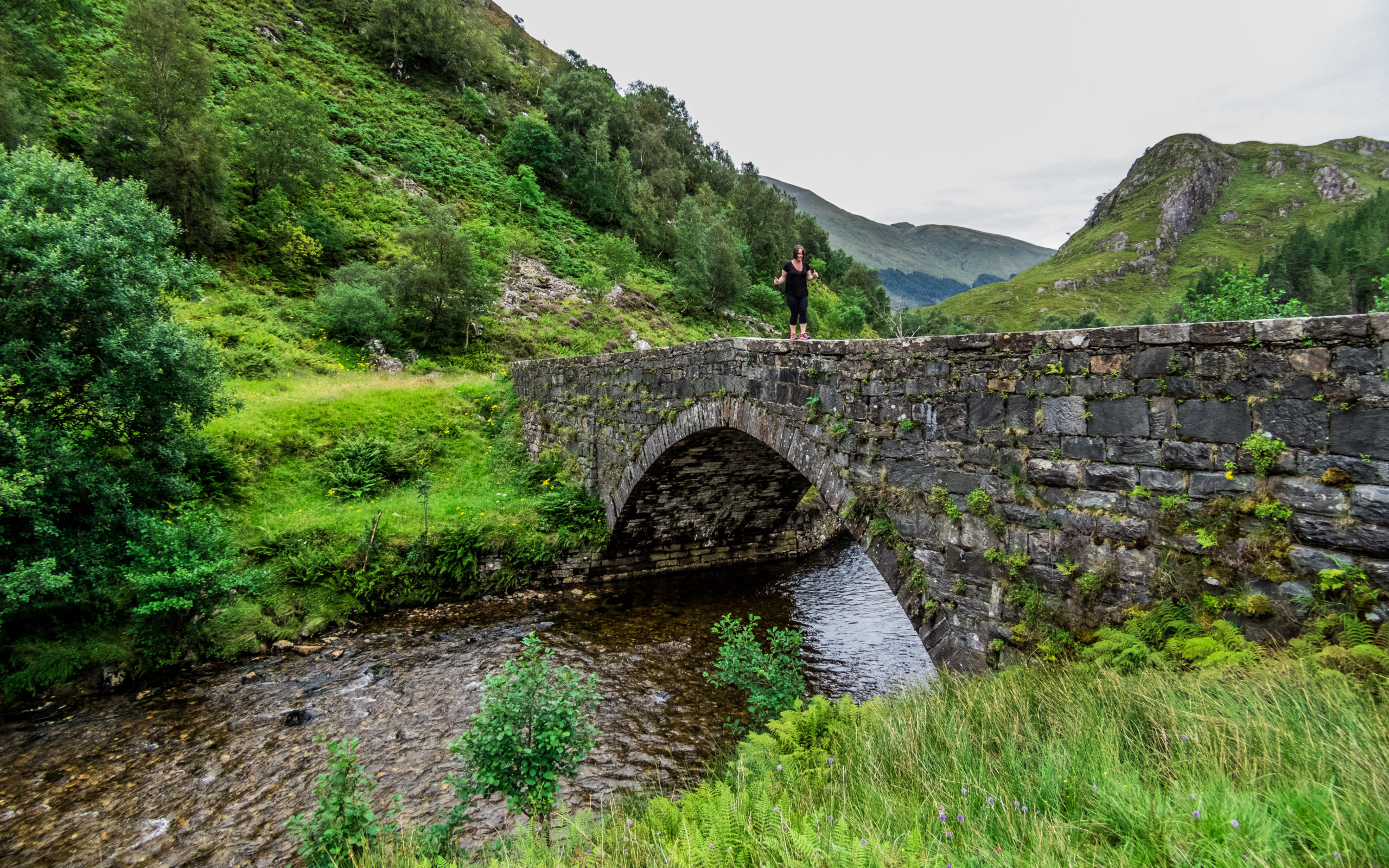 Magical Scottish Highlands bridges with Louise Connolly