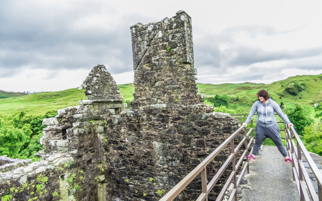 Exploring Carnasserie Castle, Scotland with Louise Connolly
