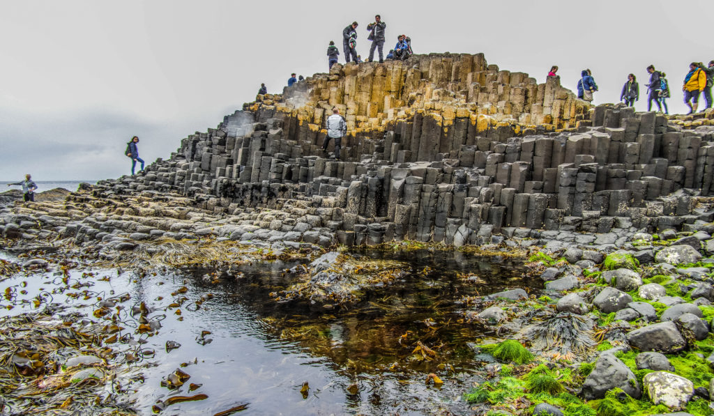 Visiting Giants Causeway with Louise Connolly