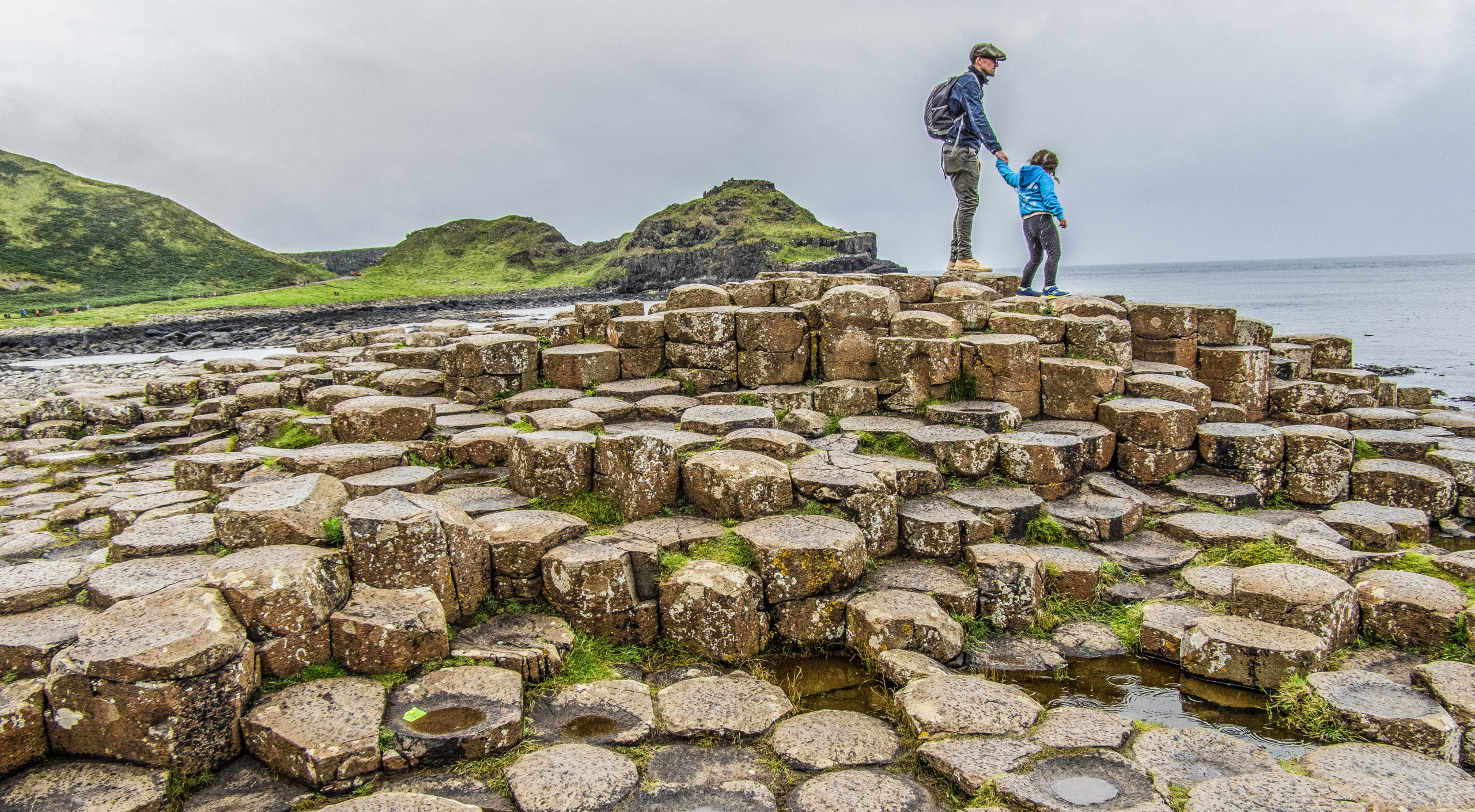 Visiting Giant's Causeway, Northern Ireland with Louise Connolly