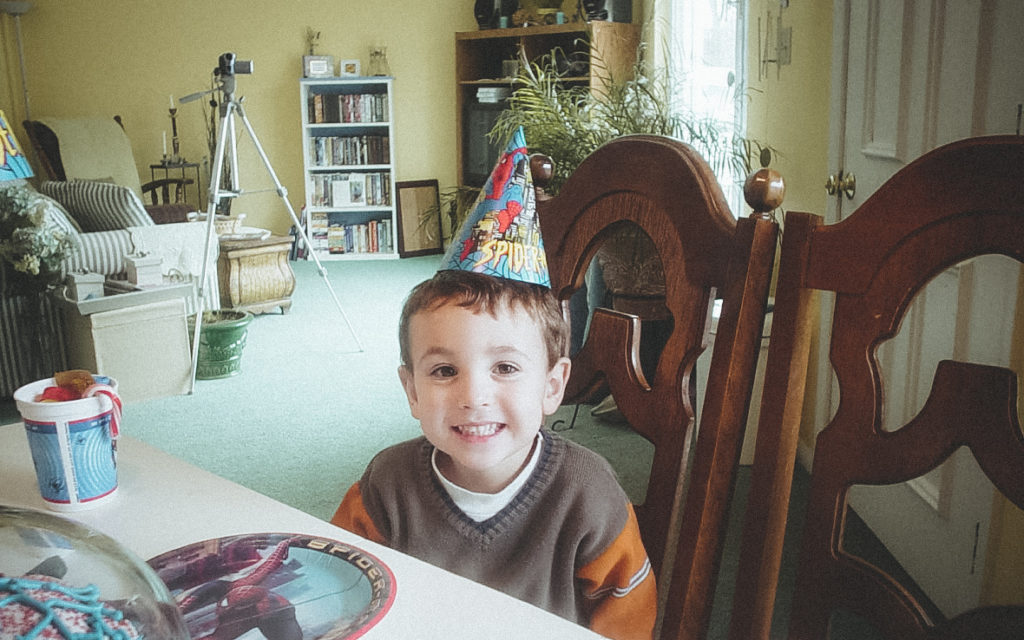 Liam Doig at Nevan's 5th Birthday Party