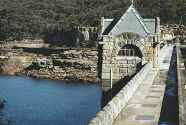 Cataract Dam Weekend with Lexie's family
